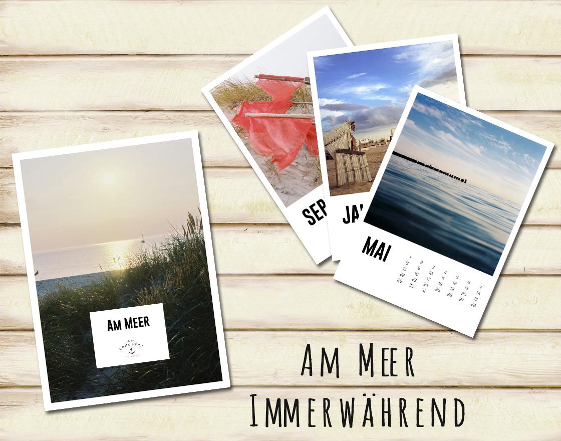 Lomoherz - Am Meer Kalender