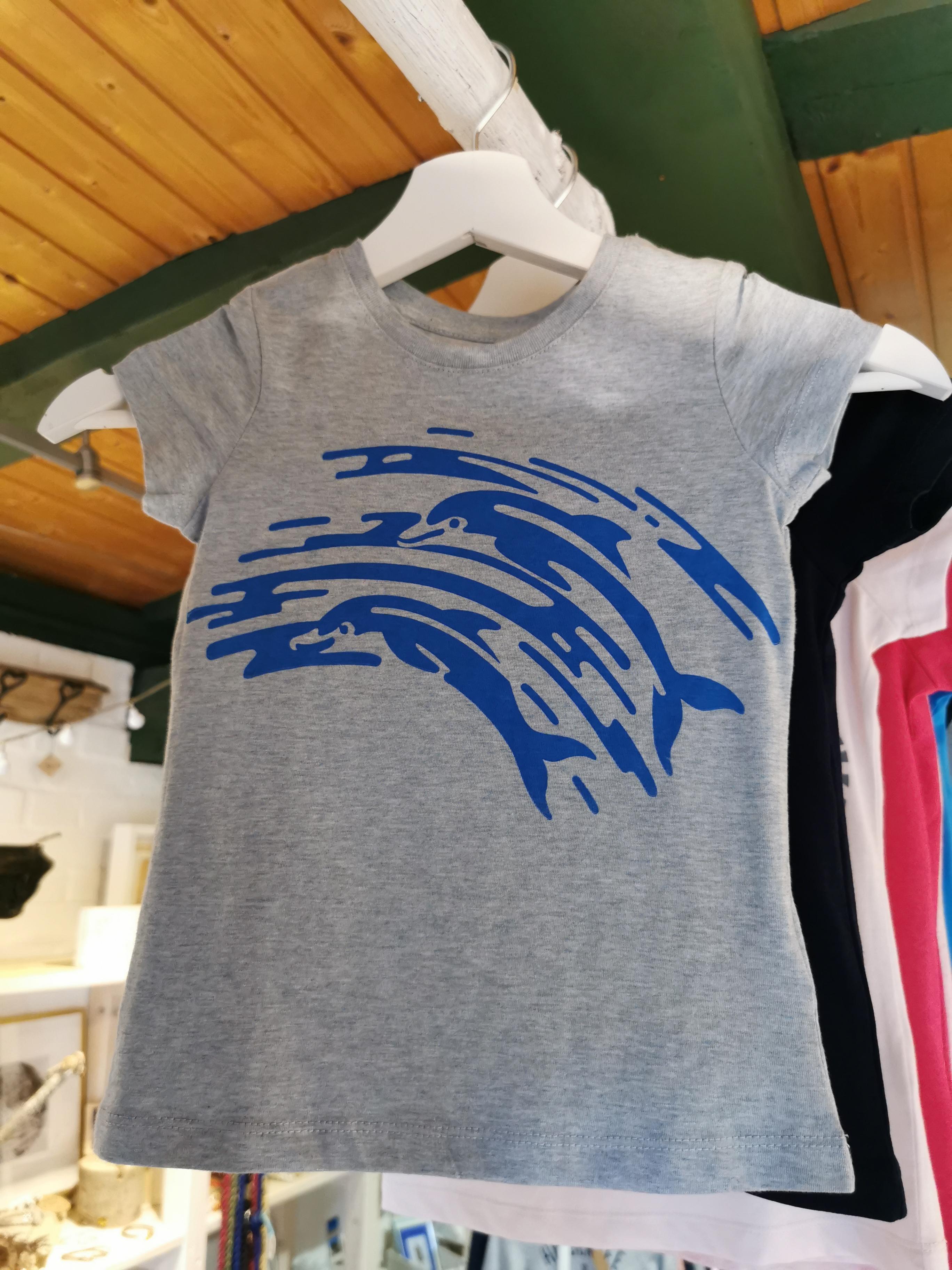 Küstenlabel - Delfin, Kinder