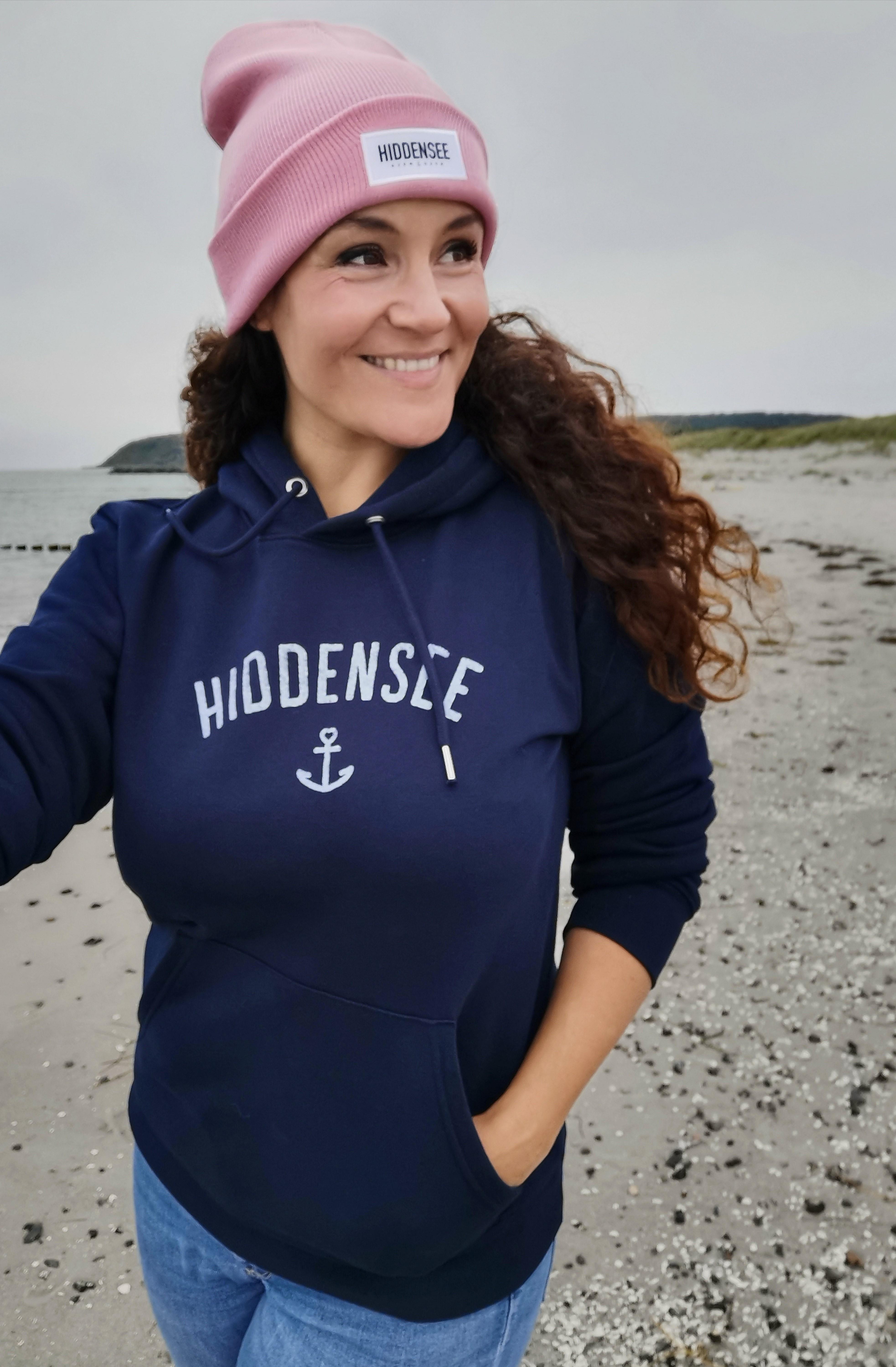 Hiddensee Hoodie Blauer Anker