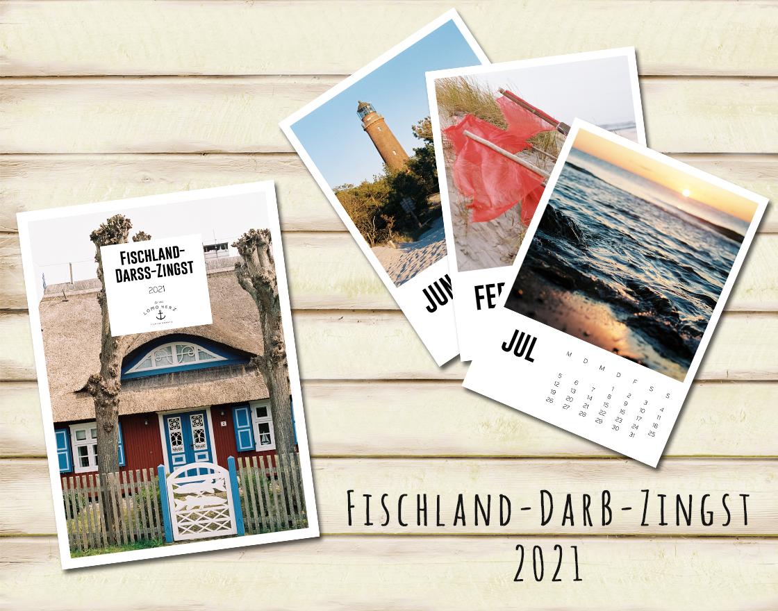 Lomoherz - Fischland-Darß-Zingst Kalender 2021