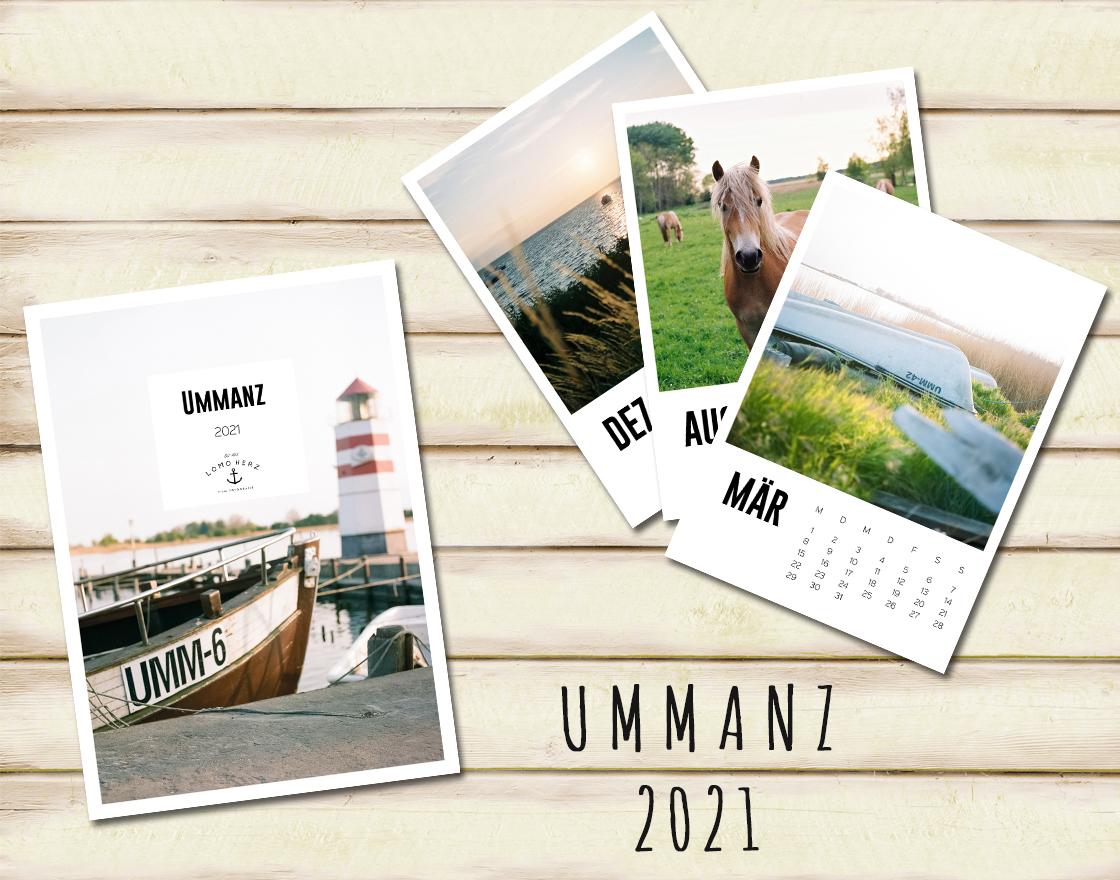Lomoherz - Ummanz Kalender 2021
