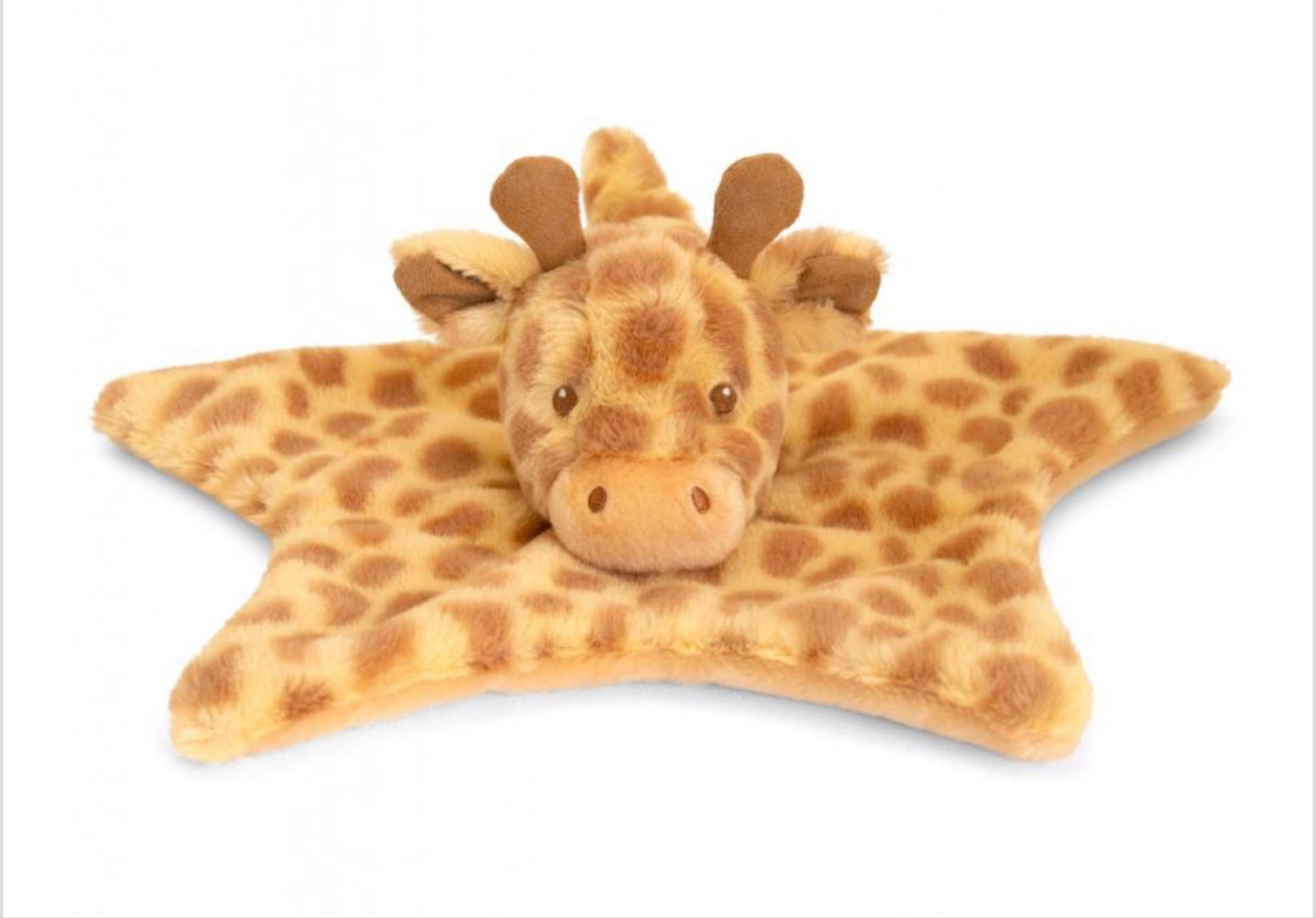 32cm Eco Huggy Giraffe Comforter