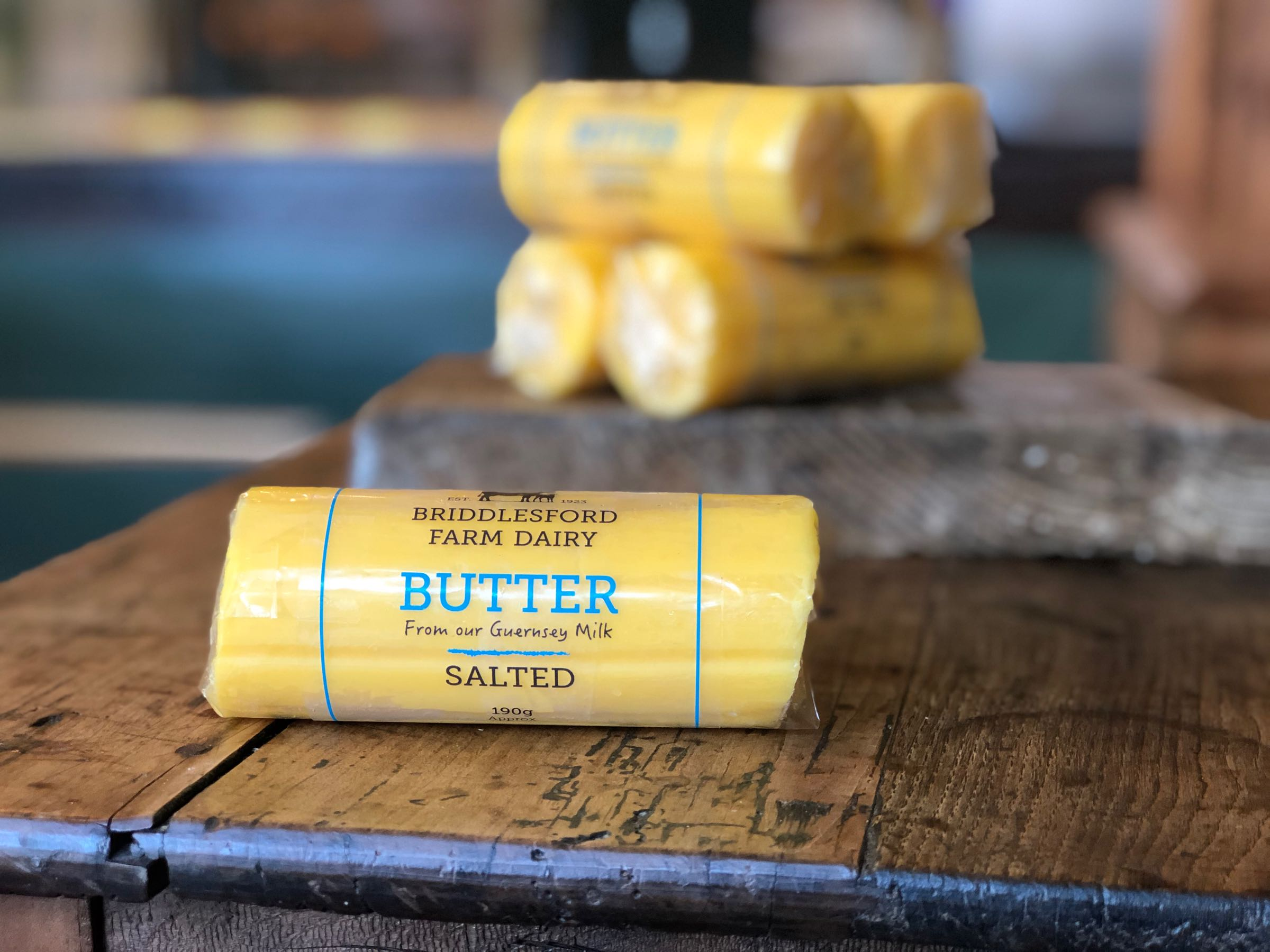Briddlesford Dairy Salted Butter 190g
