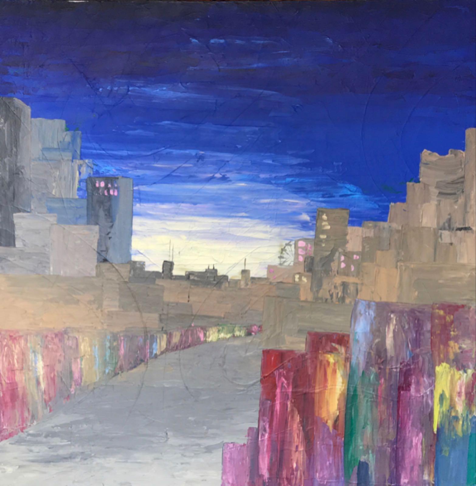 Original Work 'London Eye'