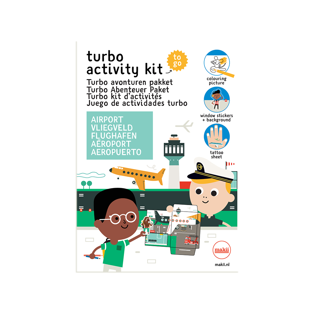 Makii - Turbo Activity Kit - Airport