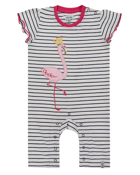 Lilly + Sid - /flamingo Playsuit