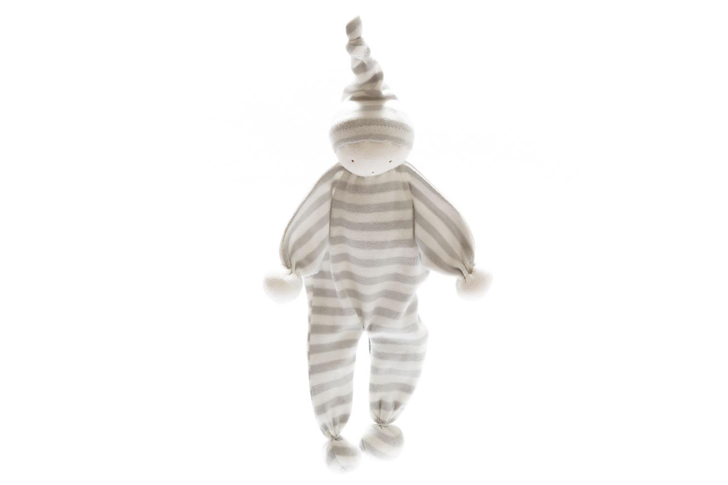 Under the Nile -Organic Baby Buddy - Grey stripe