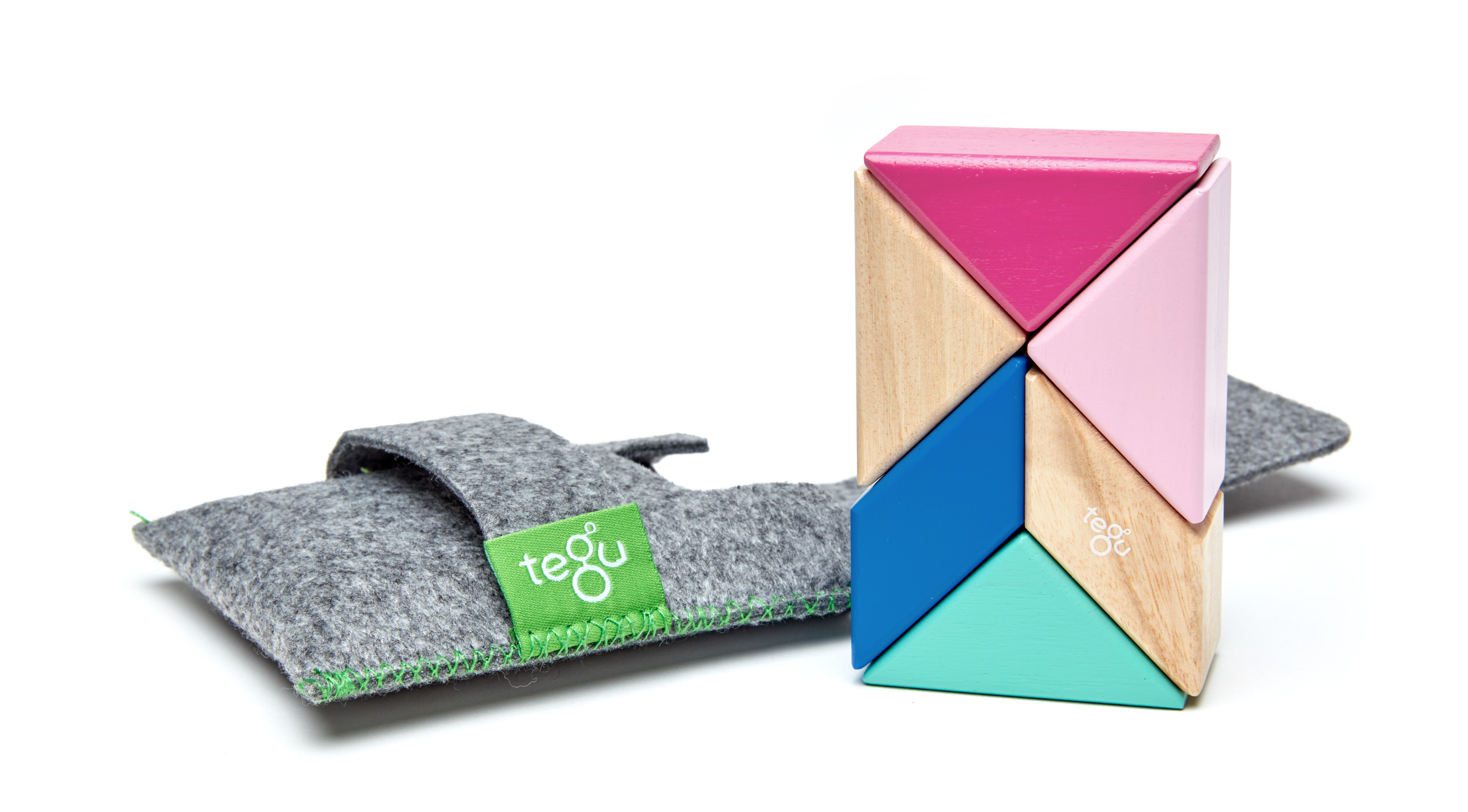Tegu-pocket pouch prism in blossom