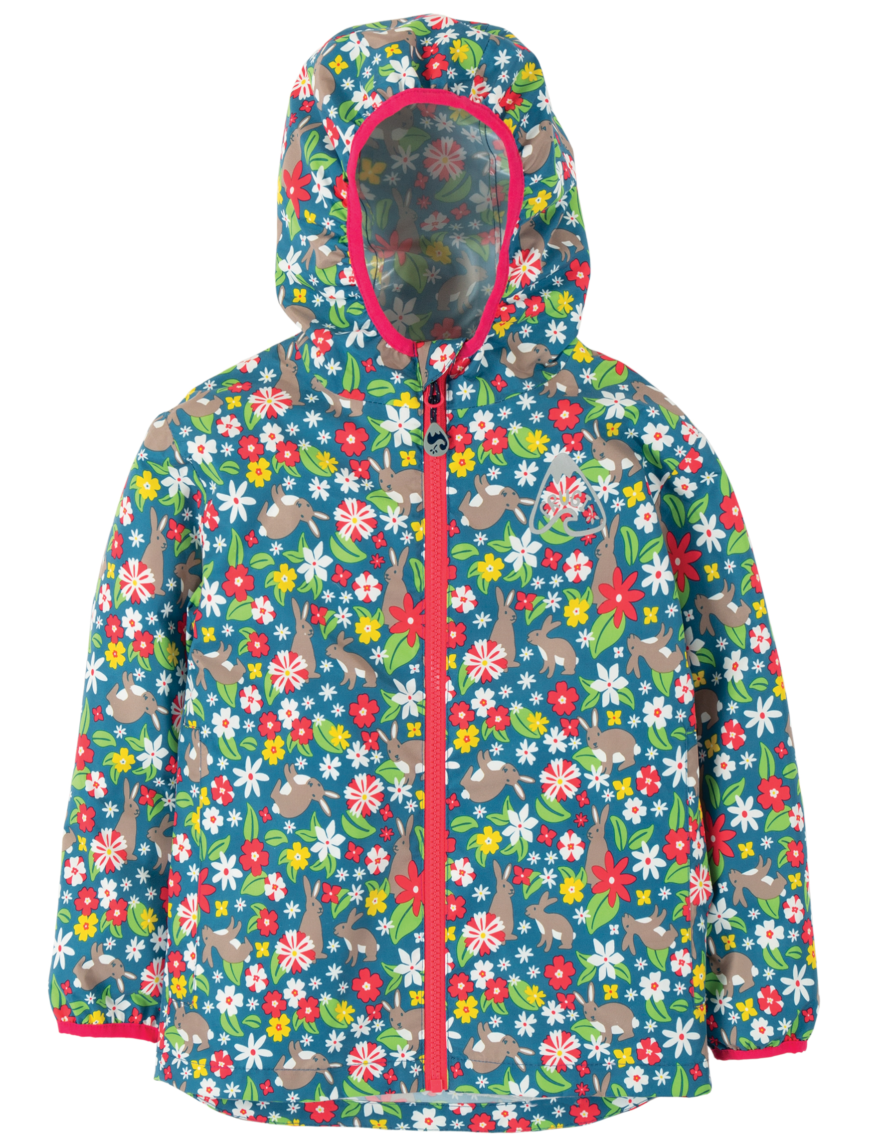 Frugi - Rain or Shine Jacket - Rabbit Fields