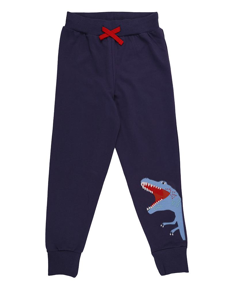 New - Lilly + Sid - Dino Applipue Joggers