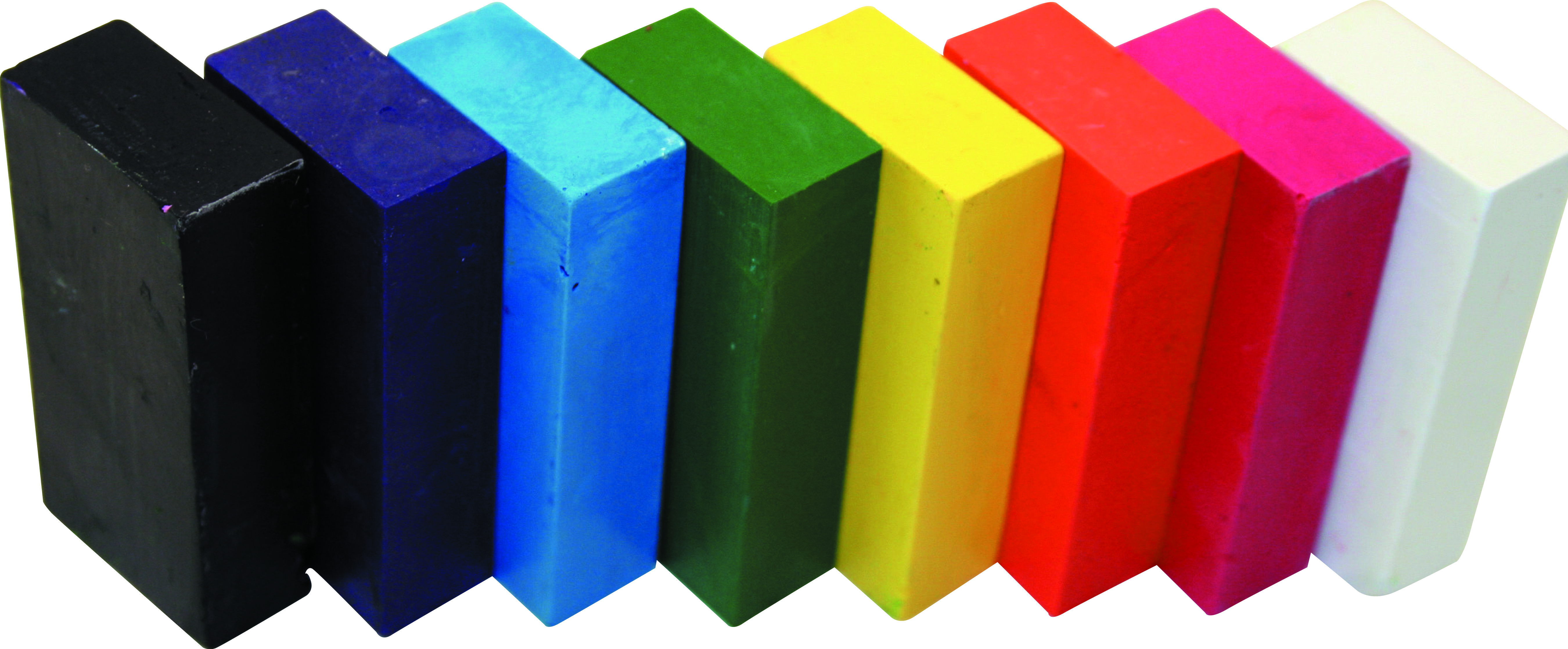 Kitpas - Crayon Block - 8 Colours