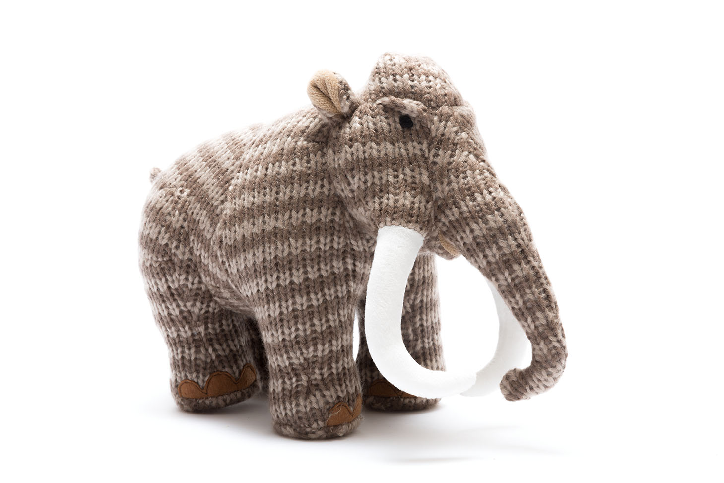 Best Years - Knitted Medium Toy - Woolly Mammoth - Brown