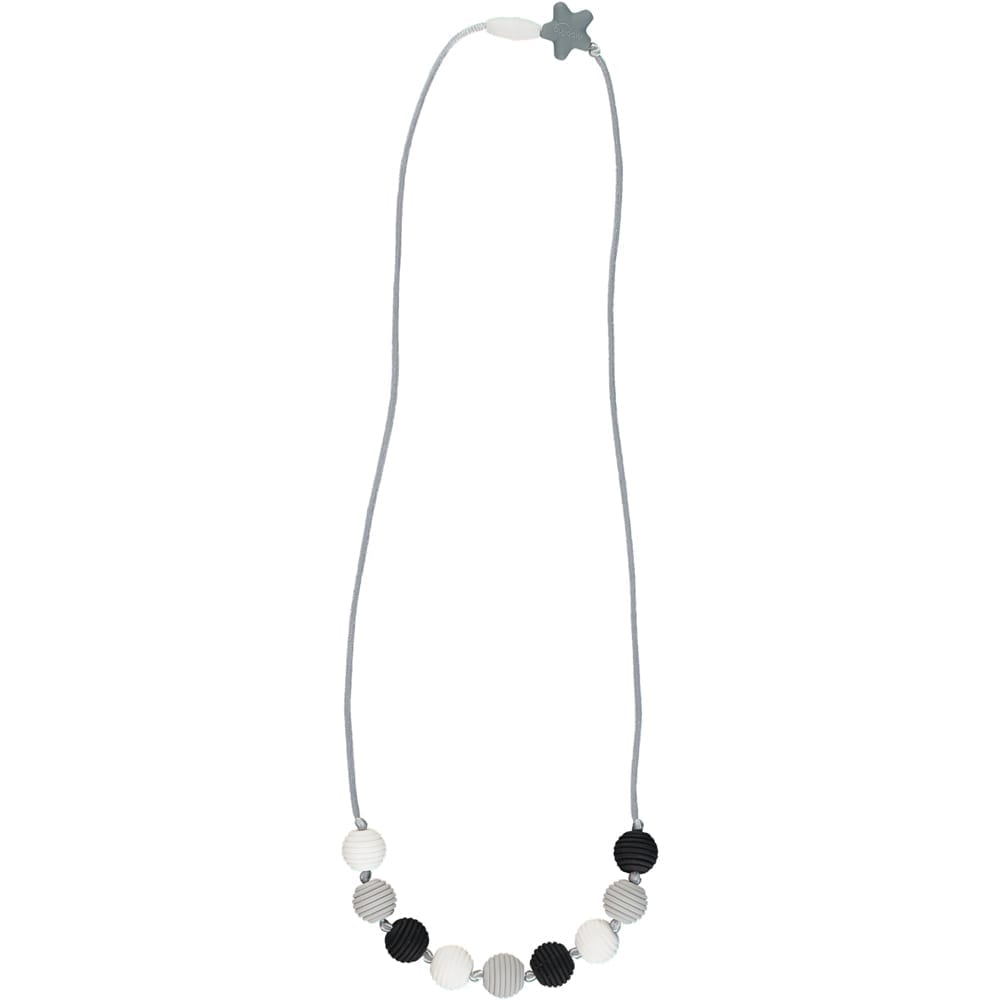 Nibbling - Henley Teething Necklace - Black & Wite