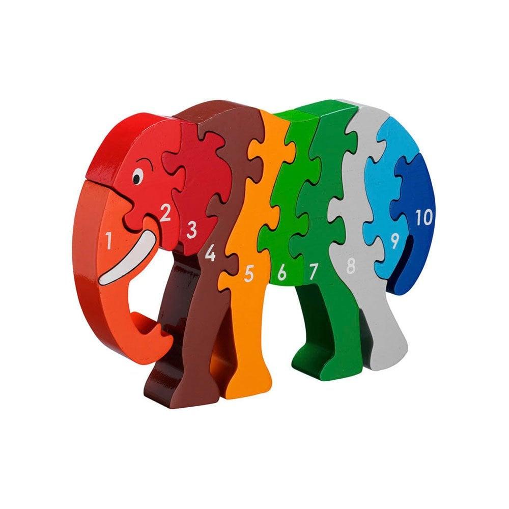 Lanka Kade - 1-10 jigsaw - Elephant