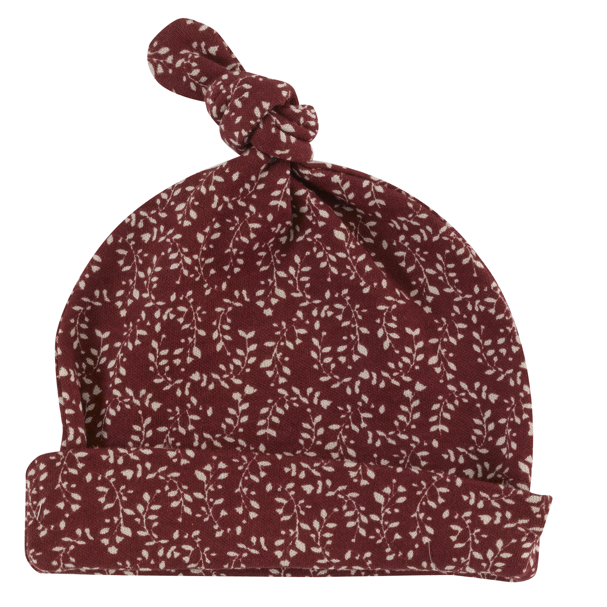 Pigeon - Knotted hat (print), leaf - Red