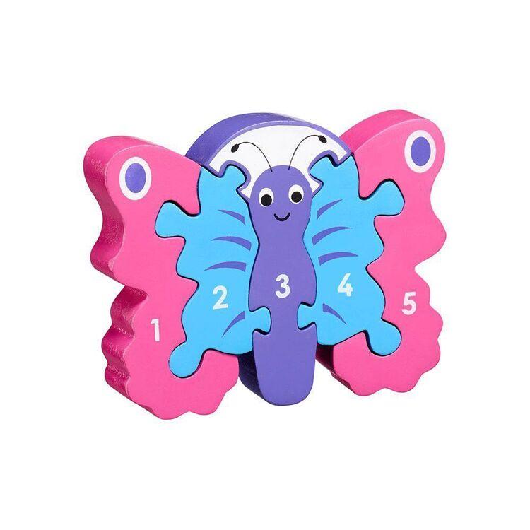 Lanka Kade - 1-5 jigsaw - butterfly