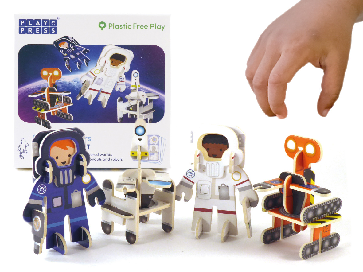 Play Press - Star Searchers Character Set