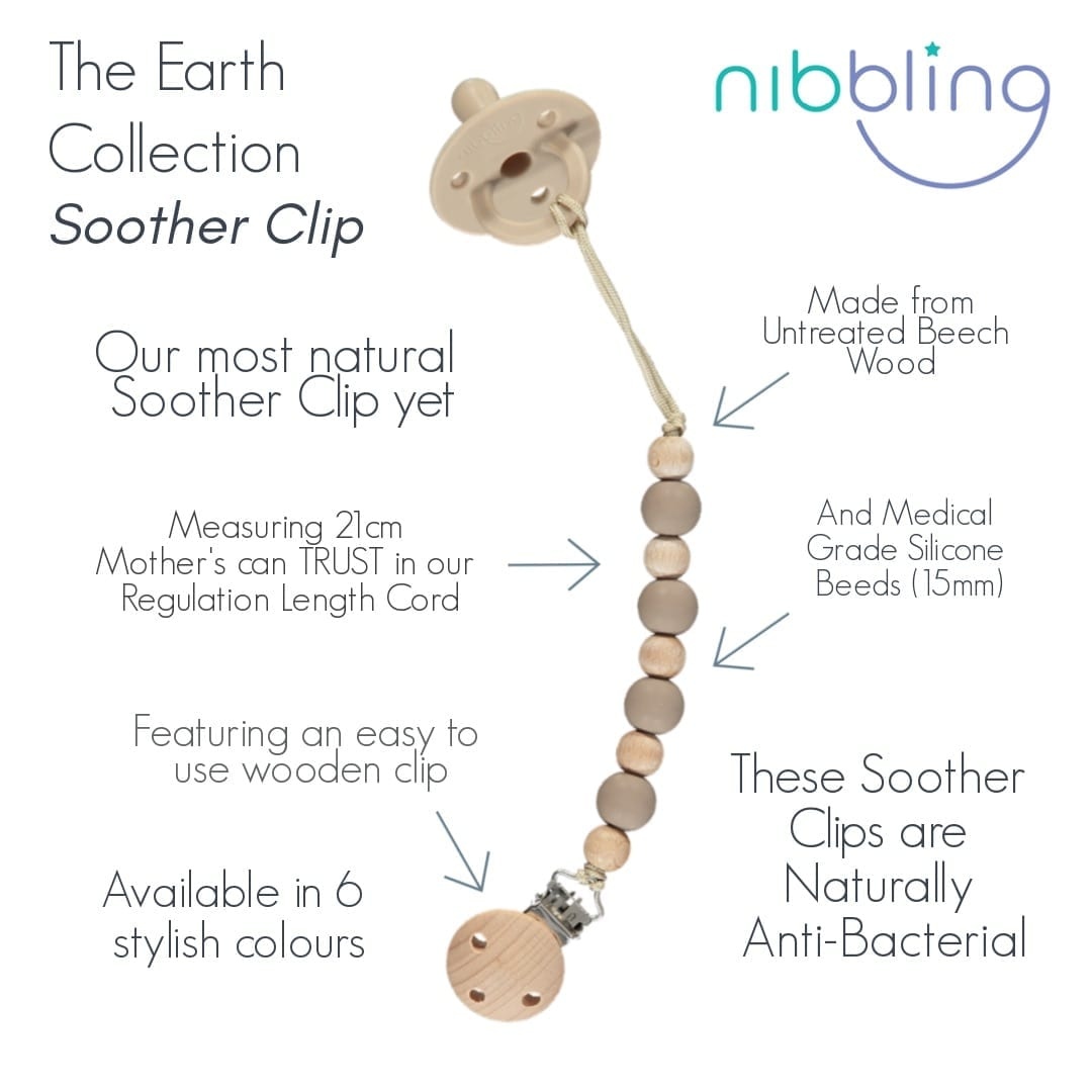 Nibbling - Earth Soother Clip - Aubergine