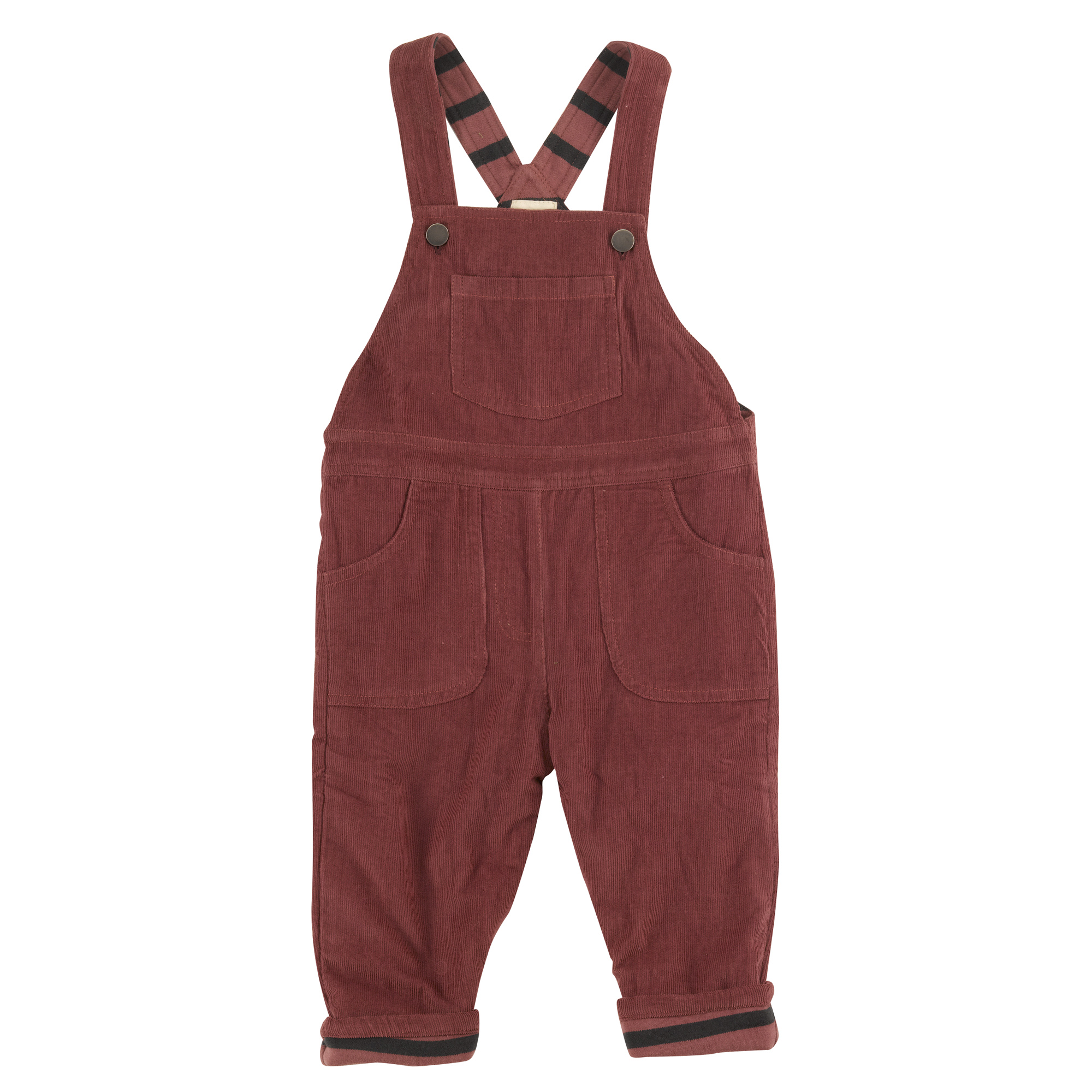 Pigeon - Lined dungarees, spice,