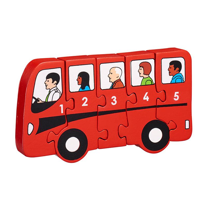 Lanka Kade - 1-5 jigsaw - Bus