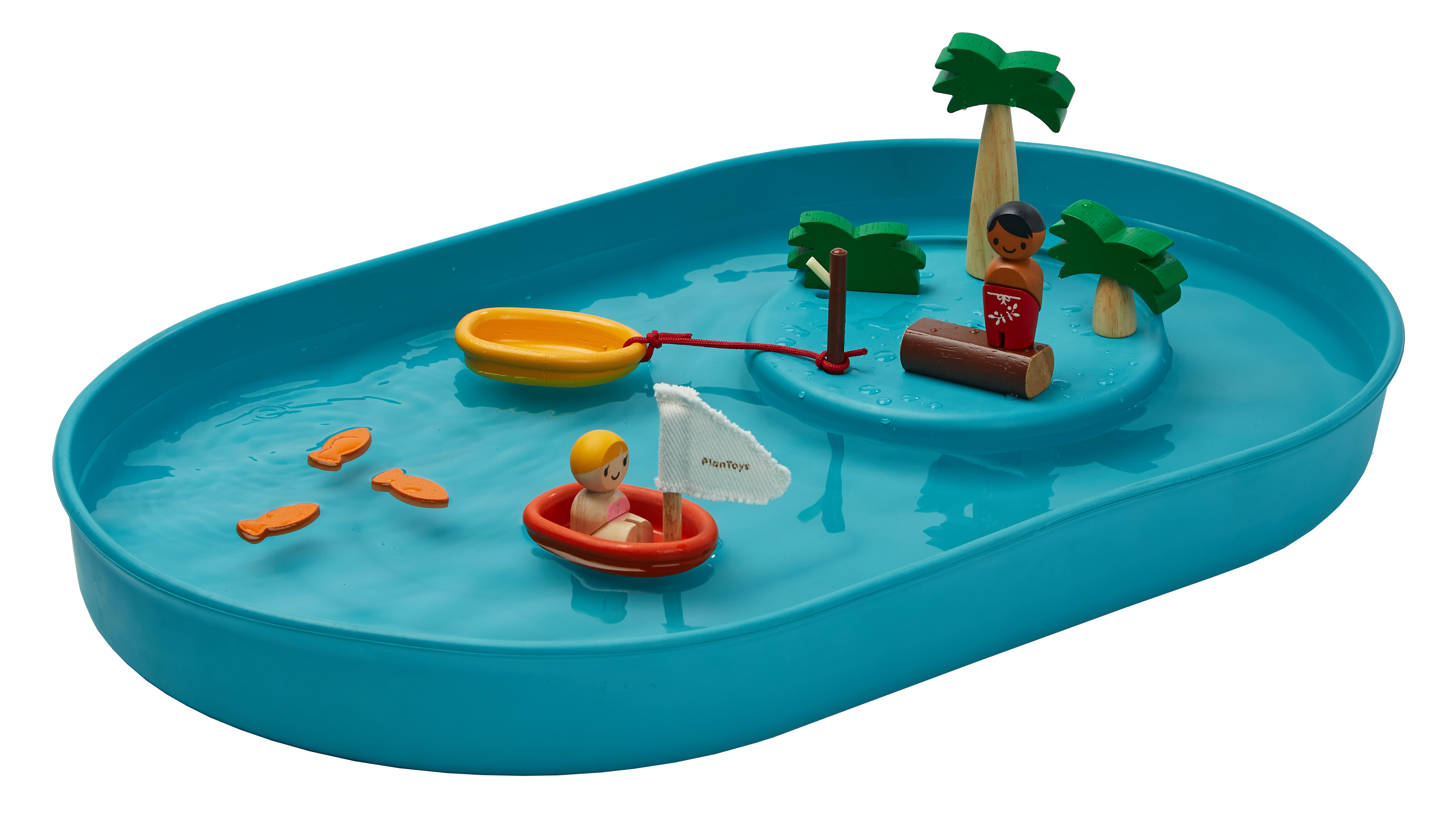 Plan Toys - Water Way play set