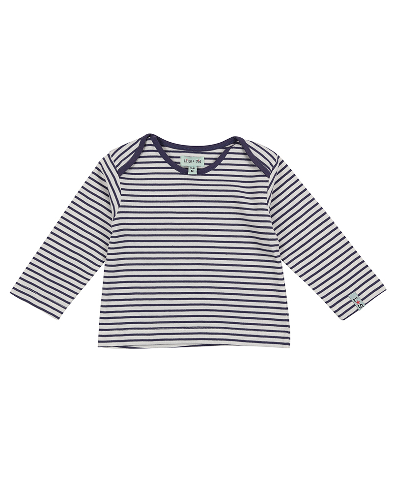 NEW - Lilly + Sid - Stripe Pocket Layering Top