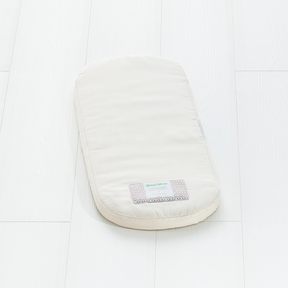 The Little Green Sheep -  Natural Clair De Lune Moses Basket Mattress