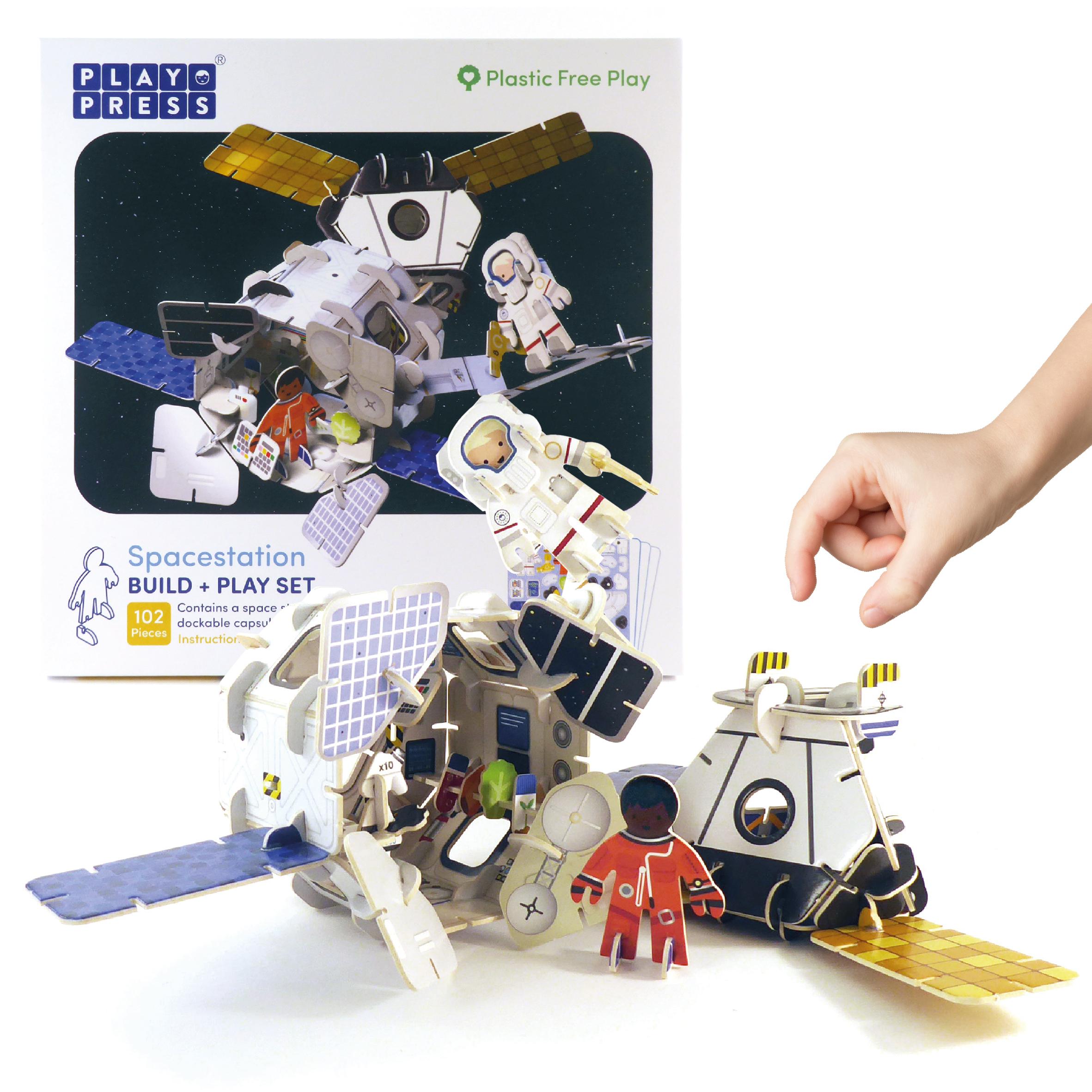 Play Press - Spacestation Playset
