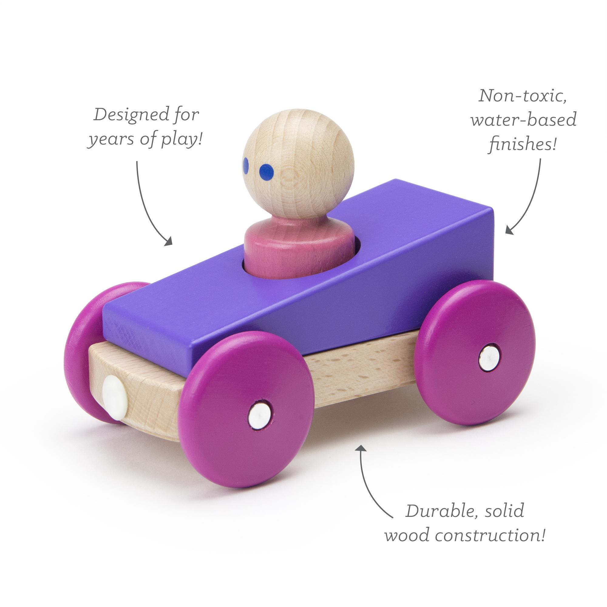 Tegu-magnetic racer- purple