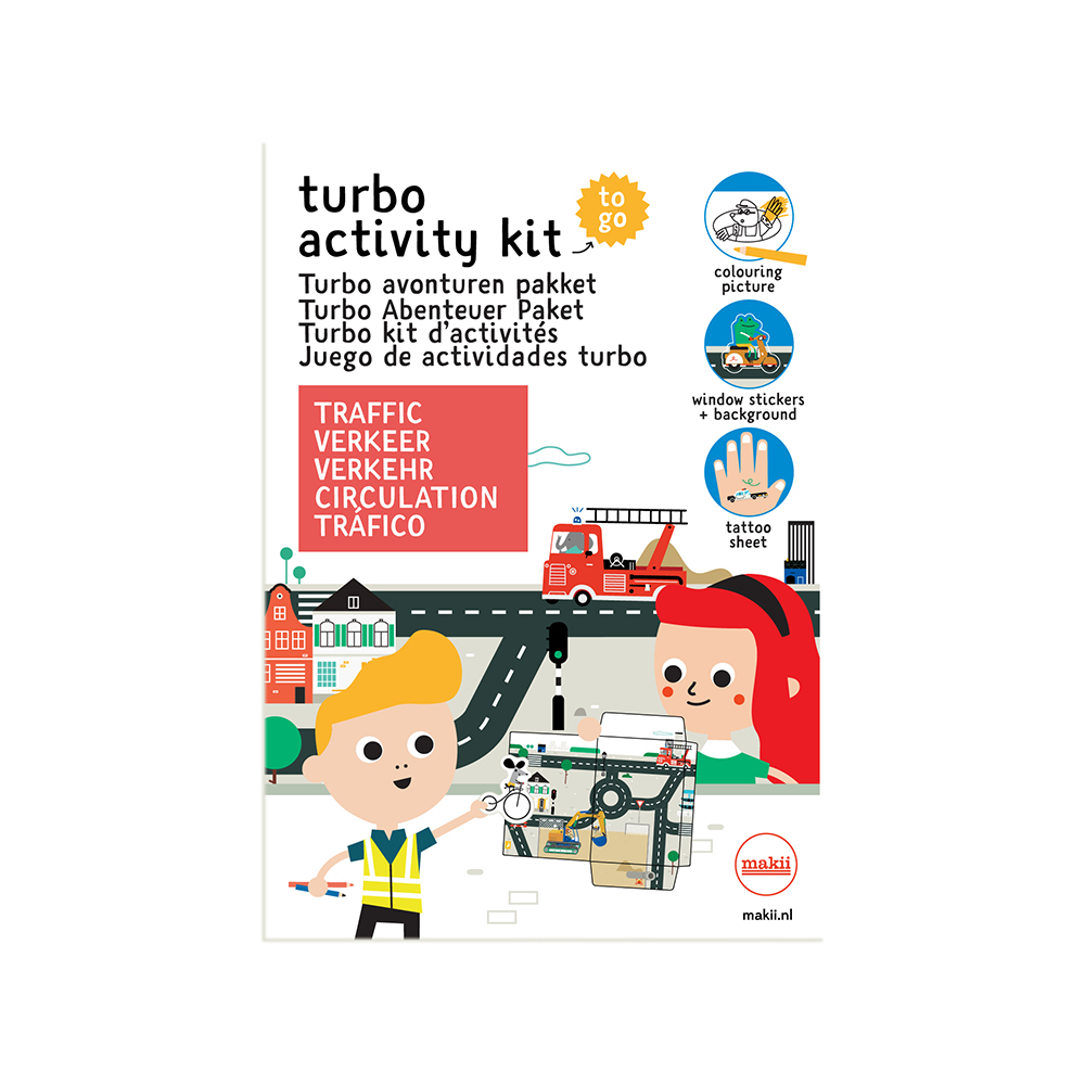 Makii - Turbo Activity Kit - Traffic