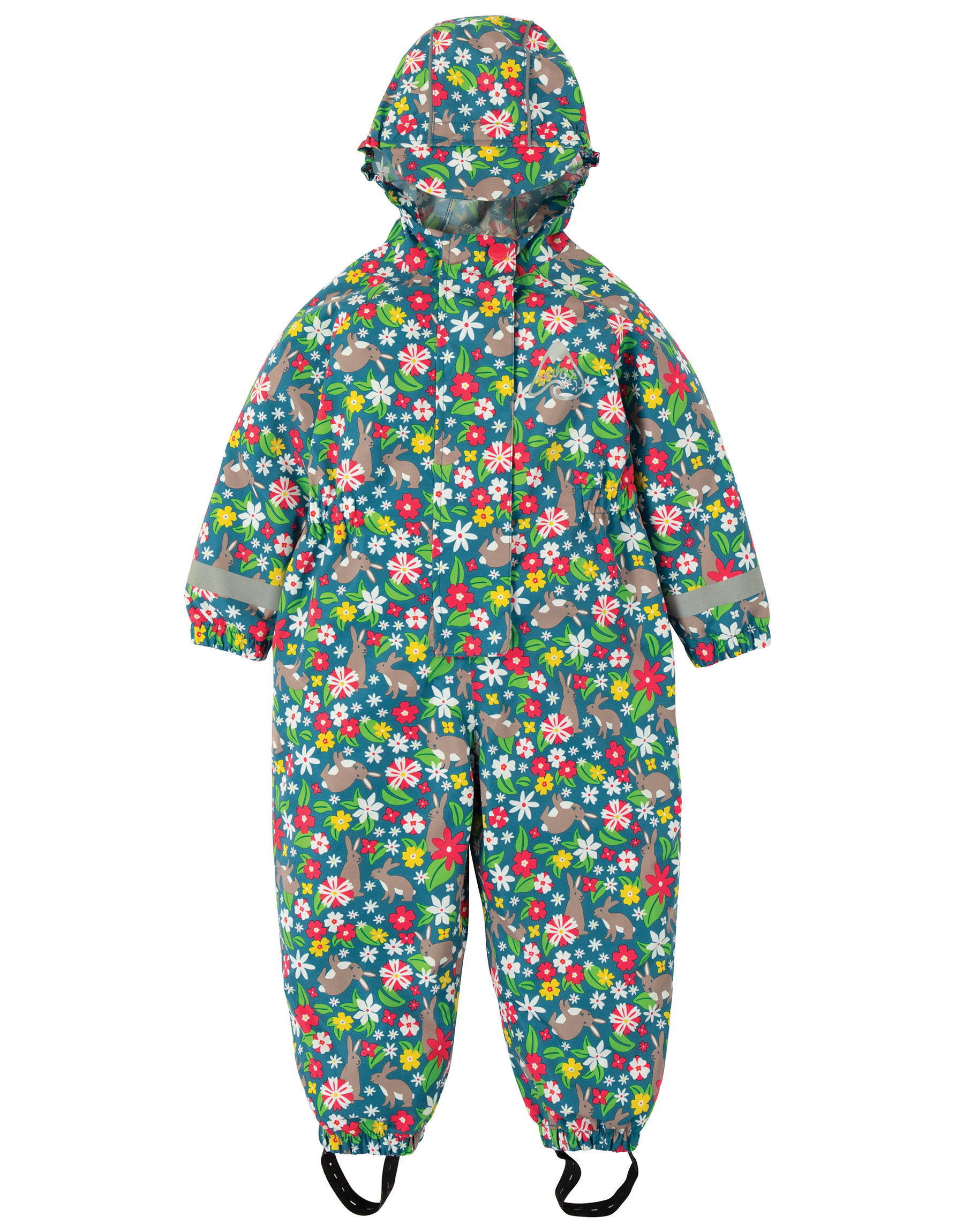 Frugi - Rain or Shine suit - Rabbit Fields