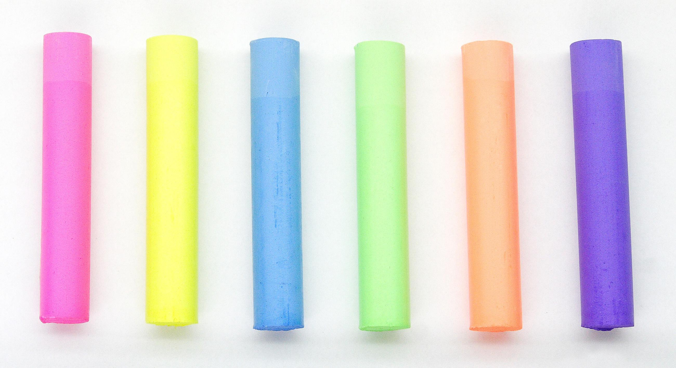 Kitpas - Dustless Chalk - Neon