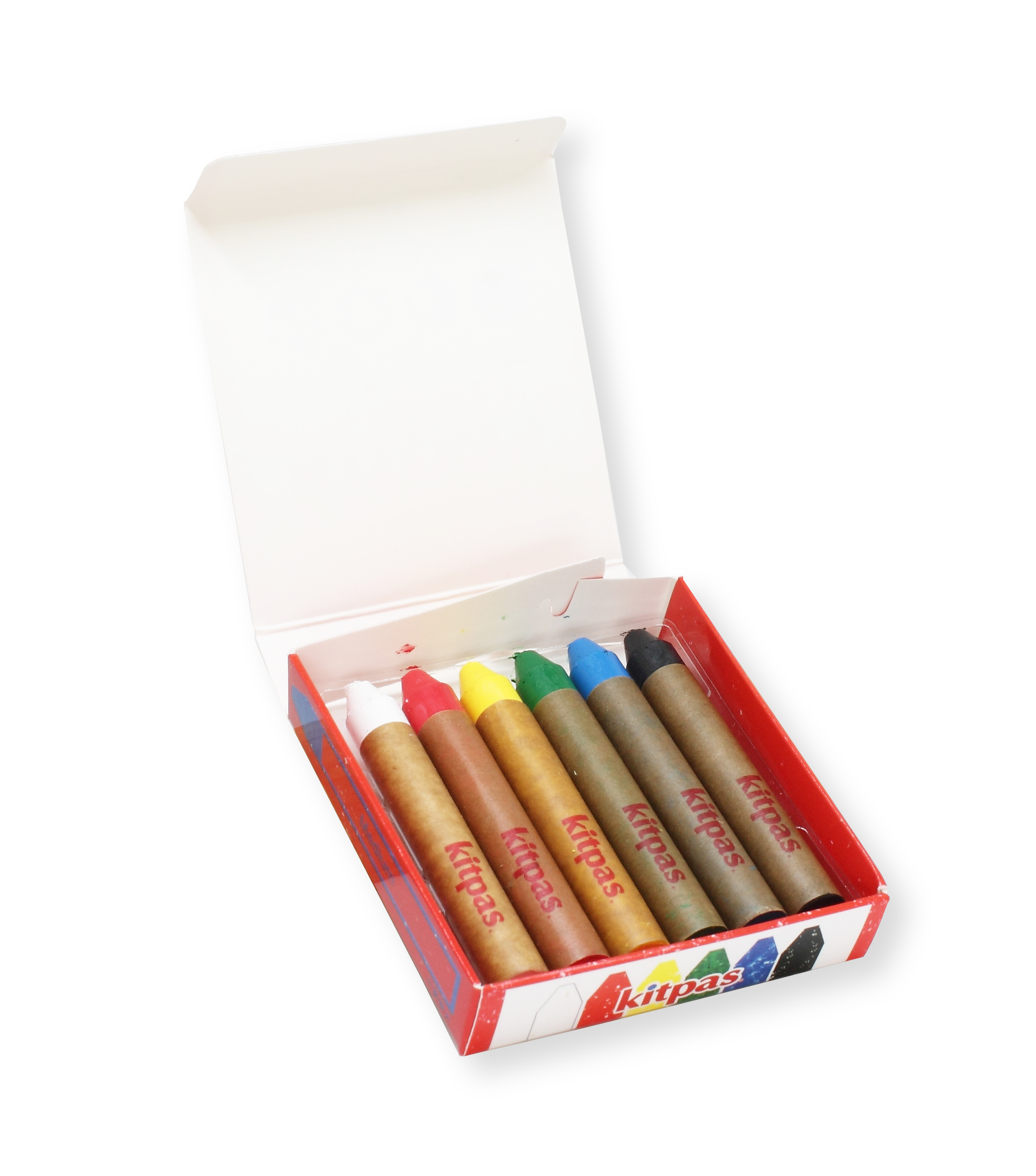 Kitpas - Crayon - 6 Colours medium