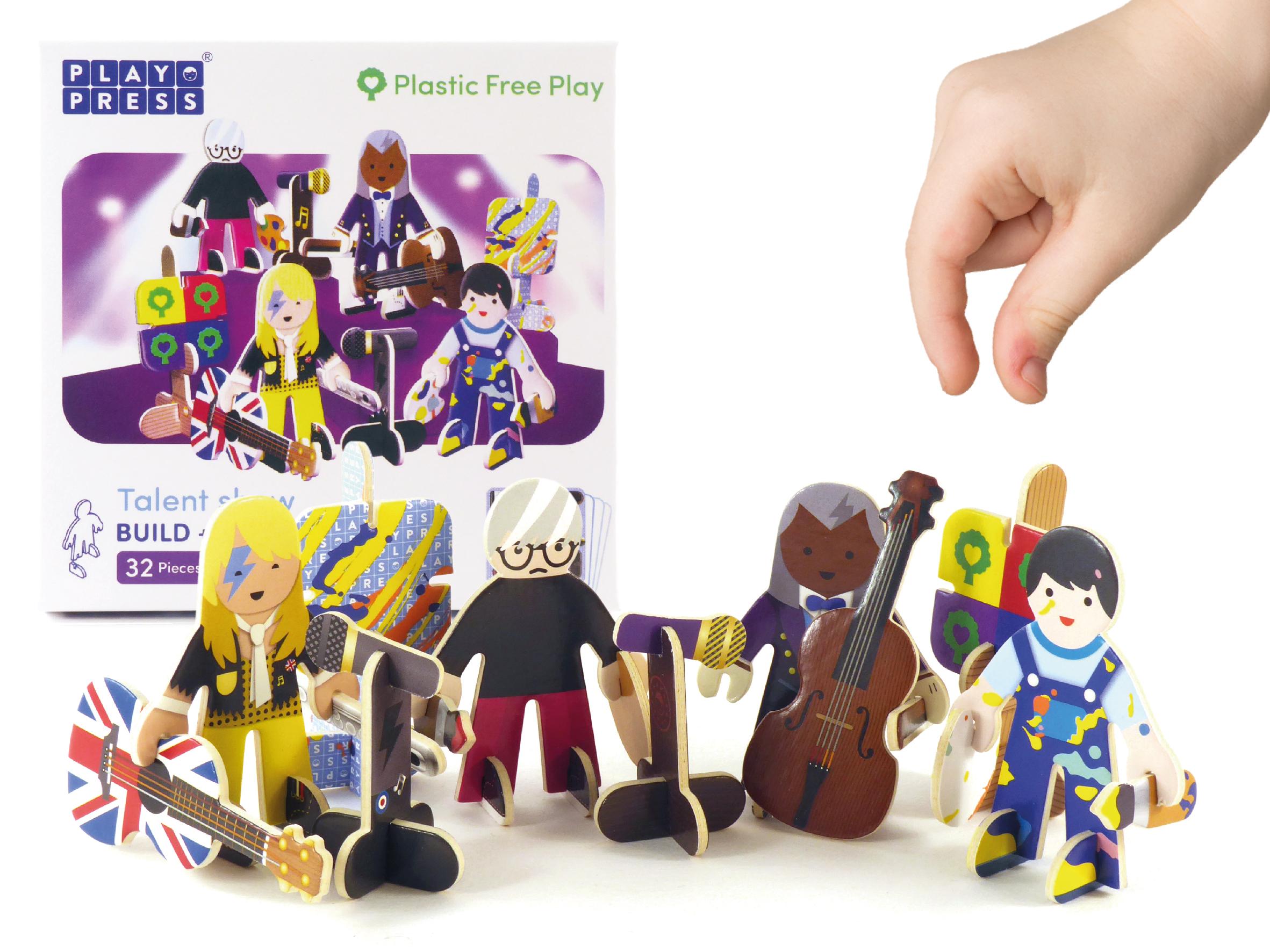 Play Press - Talent show Character Set