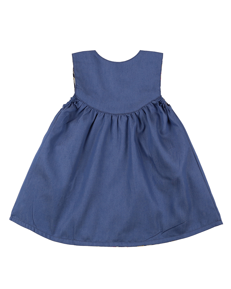 NEW - Lilly + Sid - Reversible Bear Pini Dress