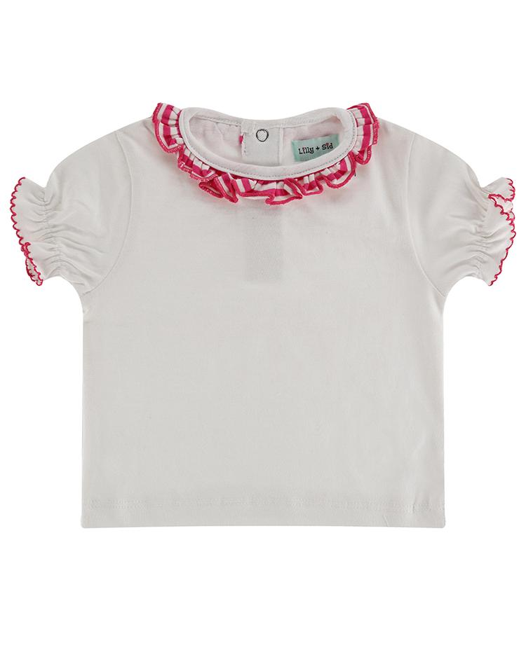 Lilly + Sid - Layering t-shirt - Frill neck
