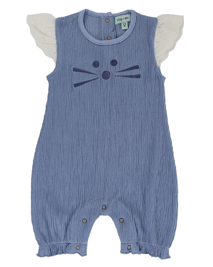 Lilly + Sid - Character Face romper