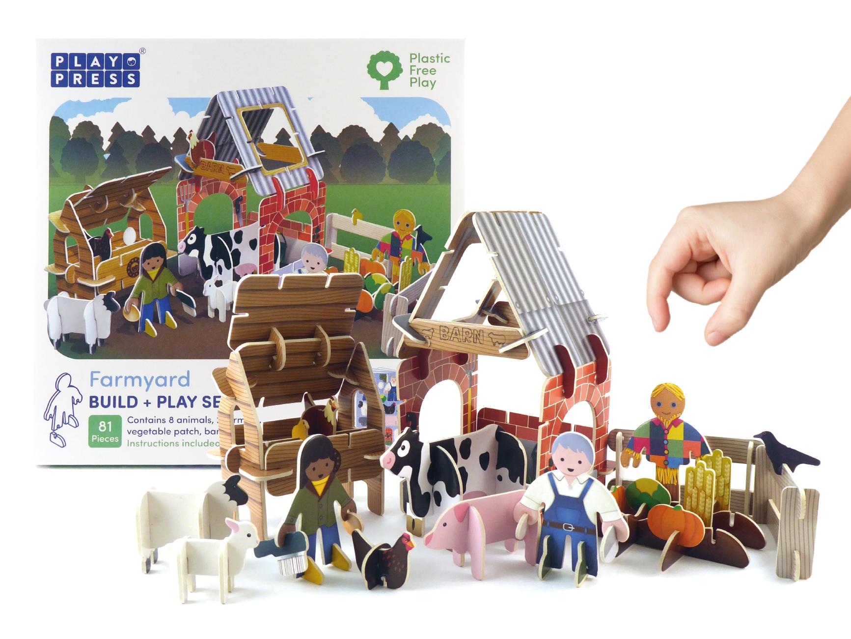 Play Press - Farmyard Playset