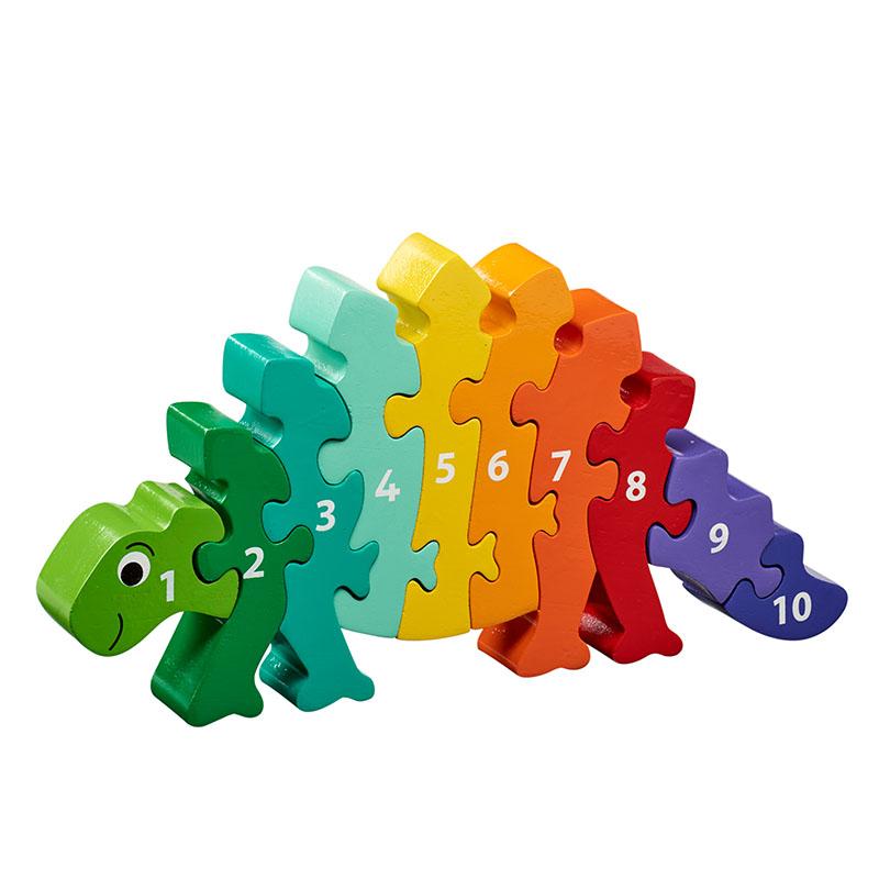 Lanka Kade - 1-10 jigsaw - Dinosaur