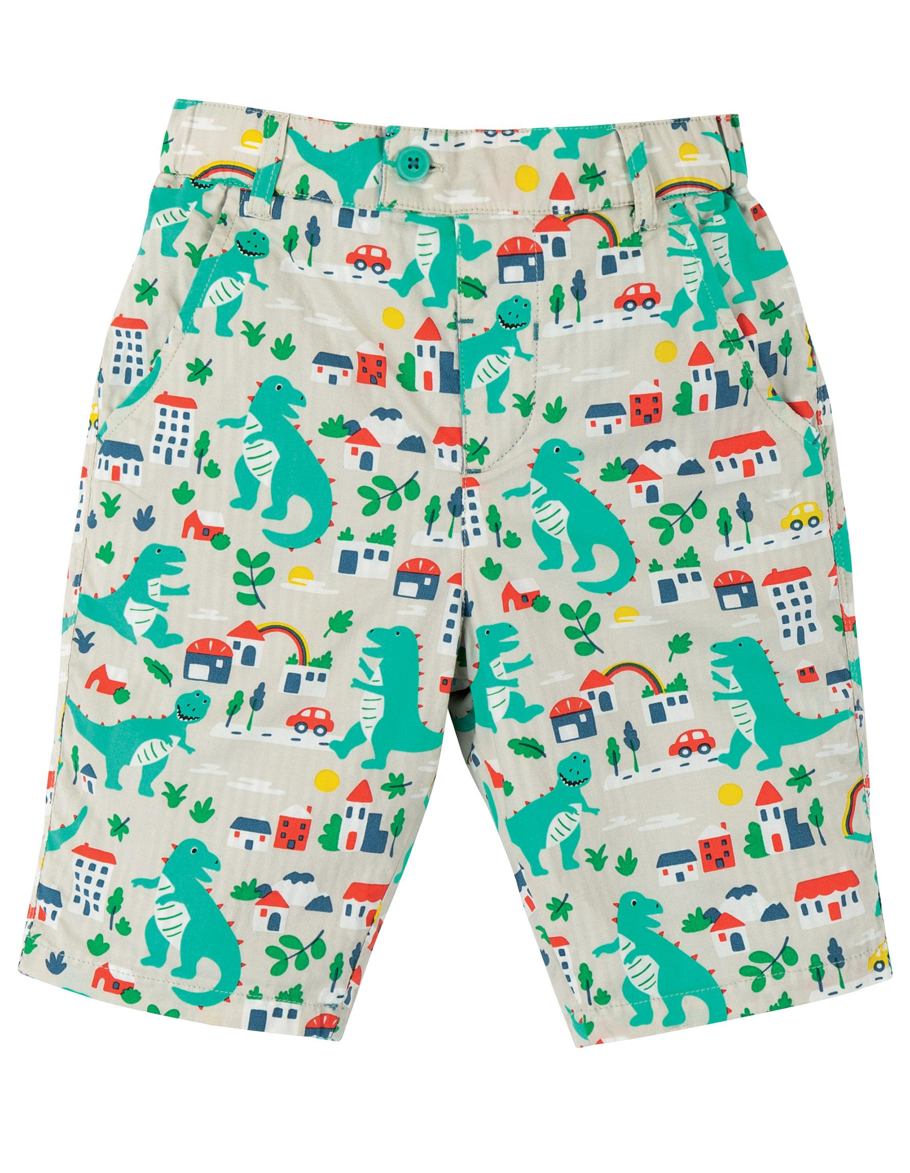 Sale - Frugi - Reuben reversibe shorts - city stomp