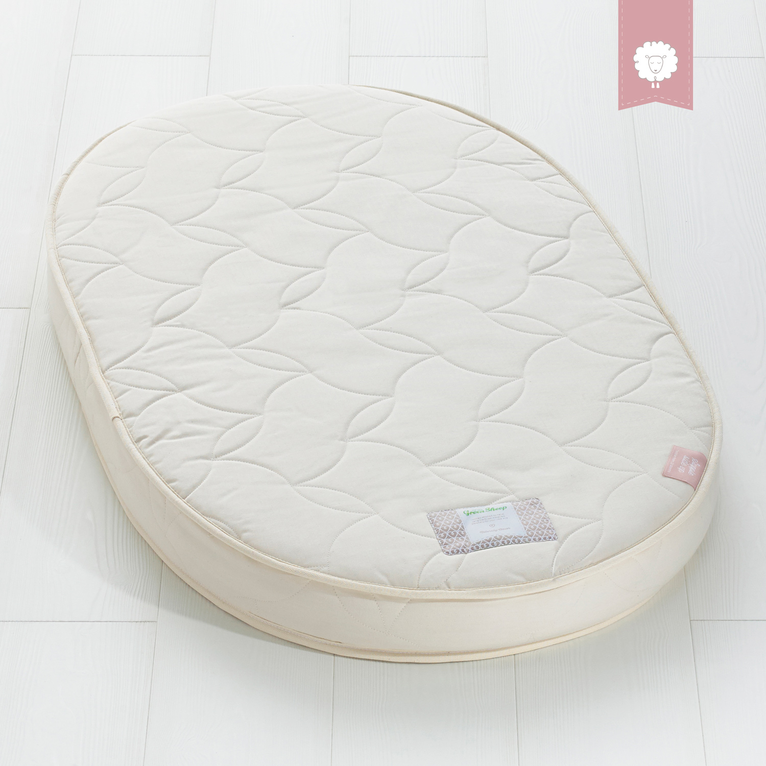 The Little Green Sheep Natural Twist 68x120 Stokke Cot Mattress