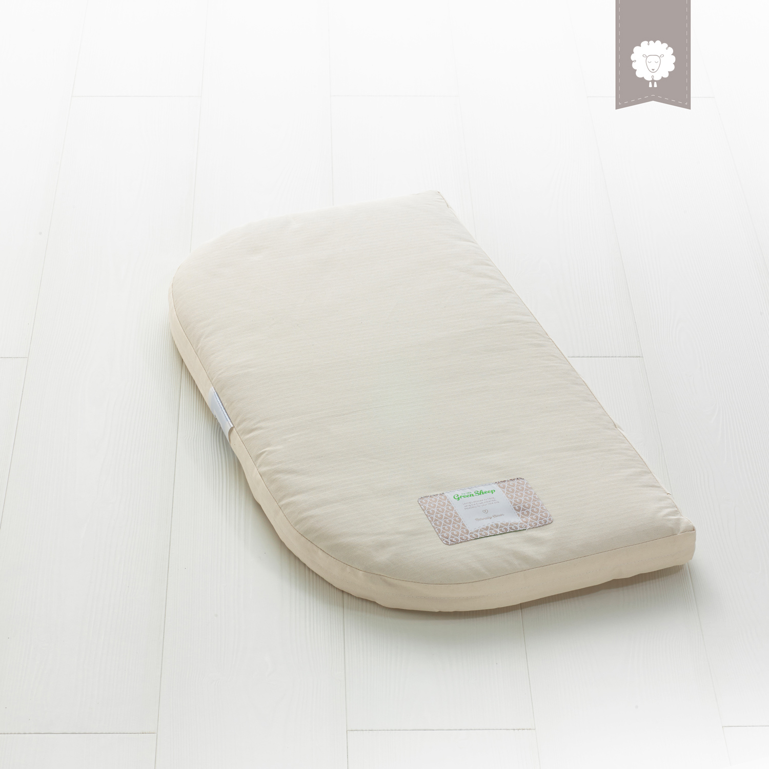 The Little Green Sheep Natural BabyBay Mattress 81 x 42 cm