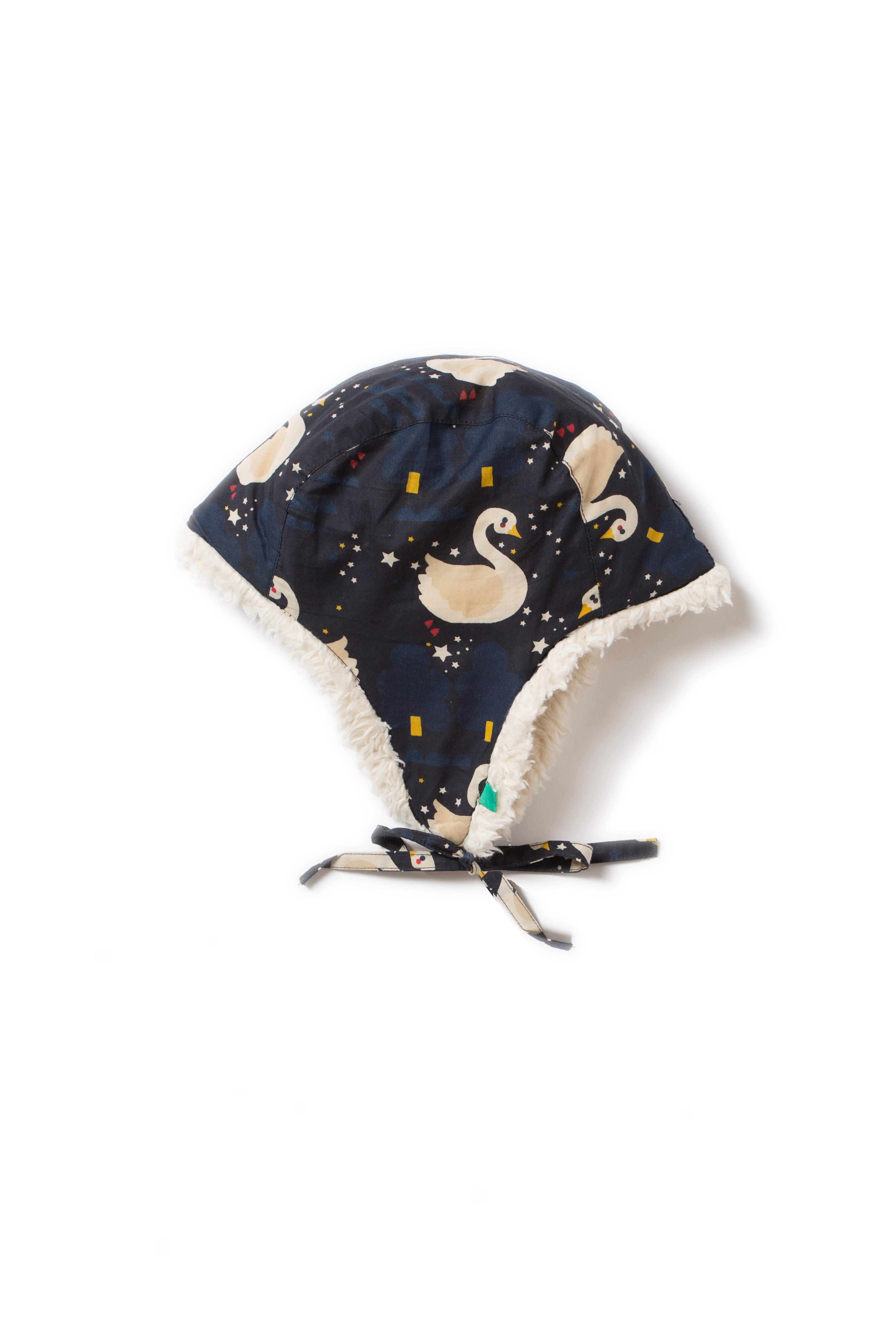 Little Green Radicals - Night swimming sherpa hat