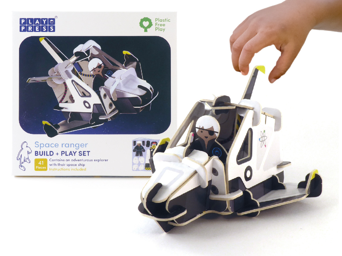 Play Press - Space Ranger Playset