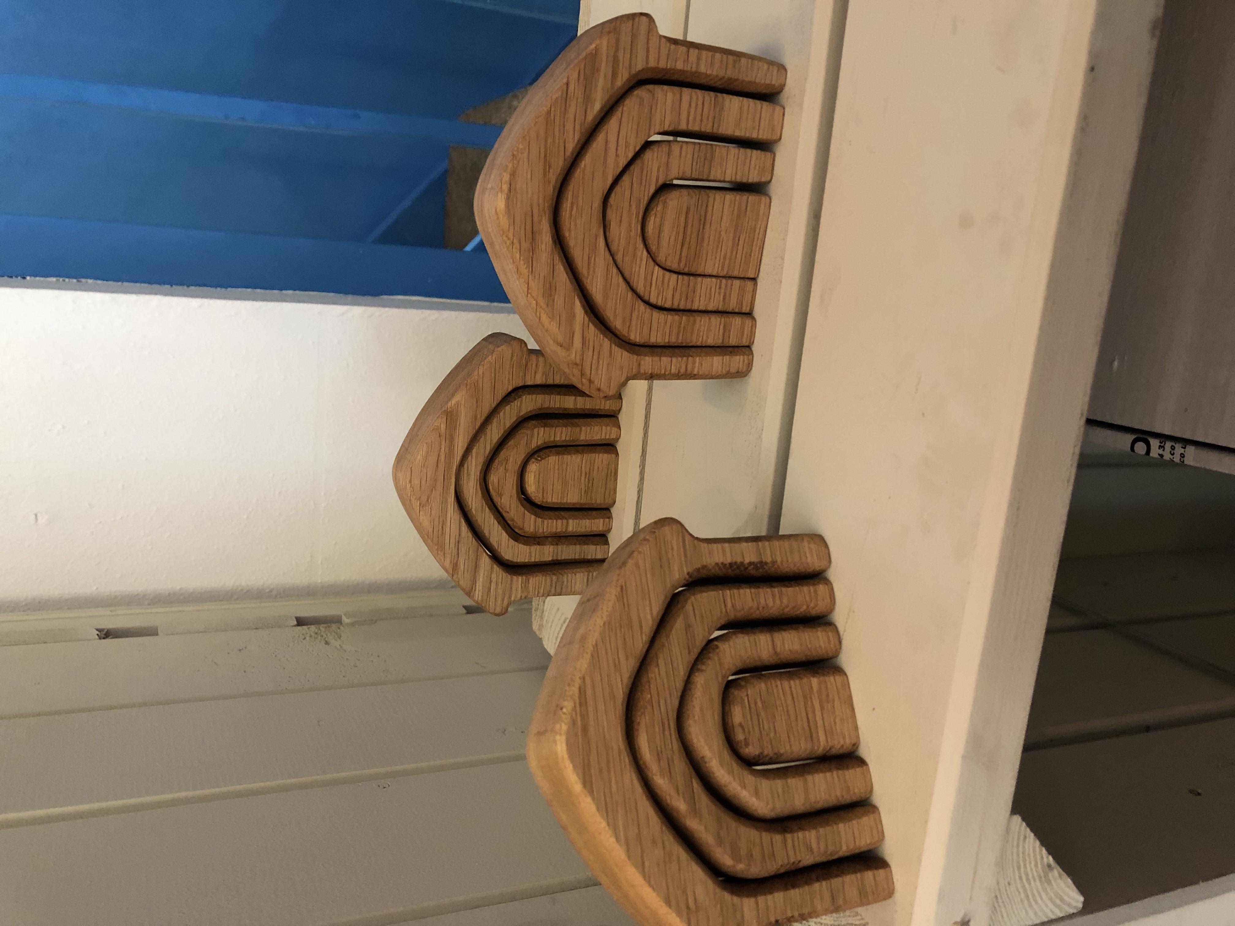 Limited edition scottish oak wooden house