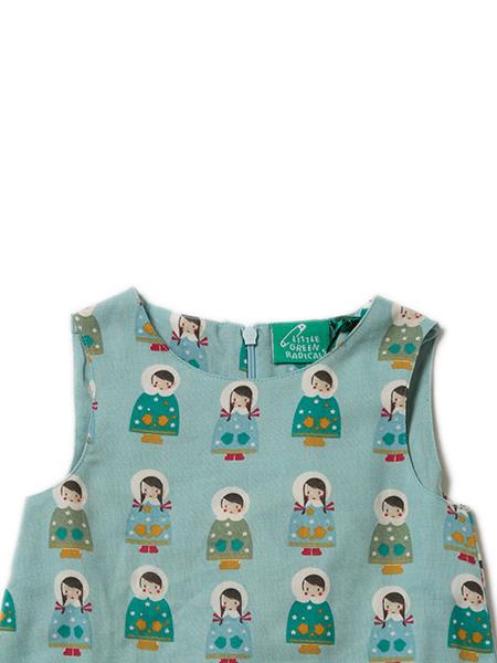 Little Green Radicals - Dressed For Snow Run Free Dress