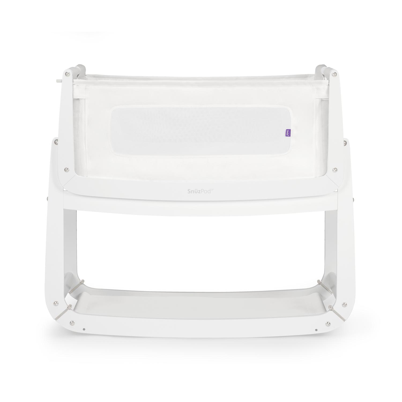 SnuzPod³ Bedside Crib - White