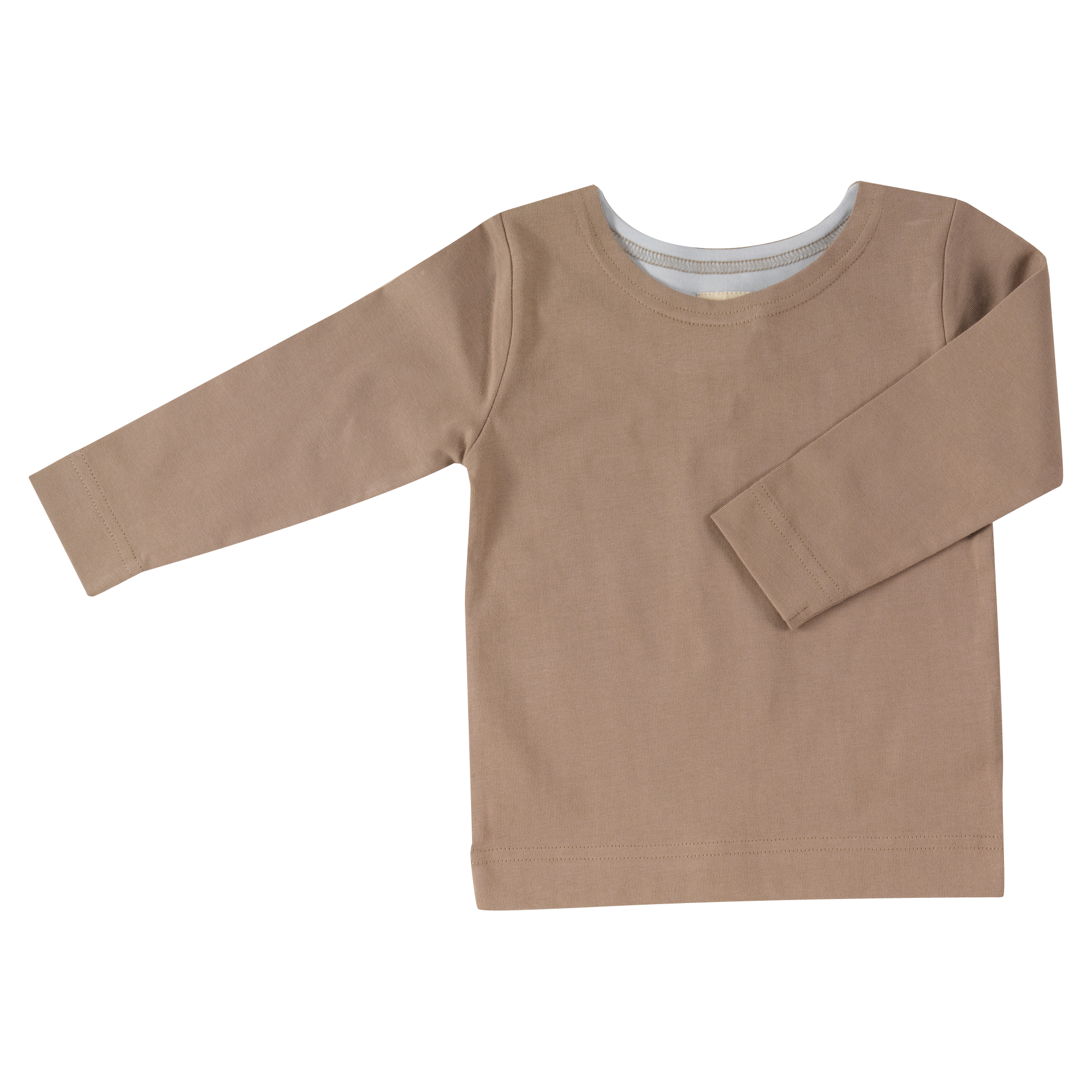 pigeon - long sleeve t-shirt - taupe