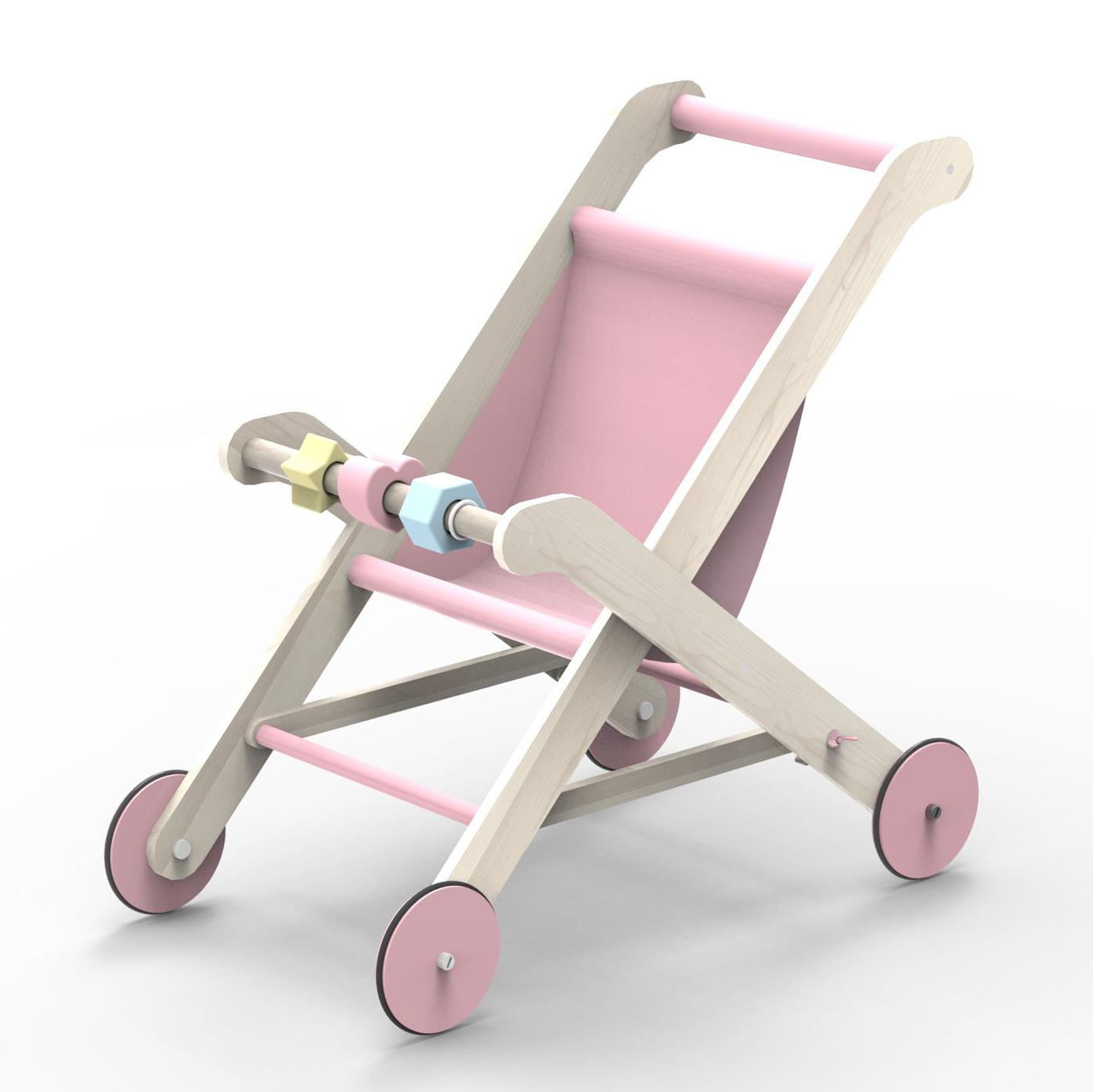 Moover - Pink Stroller