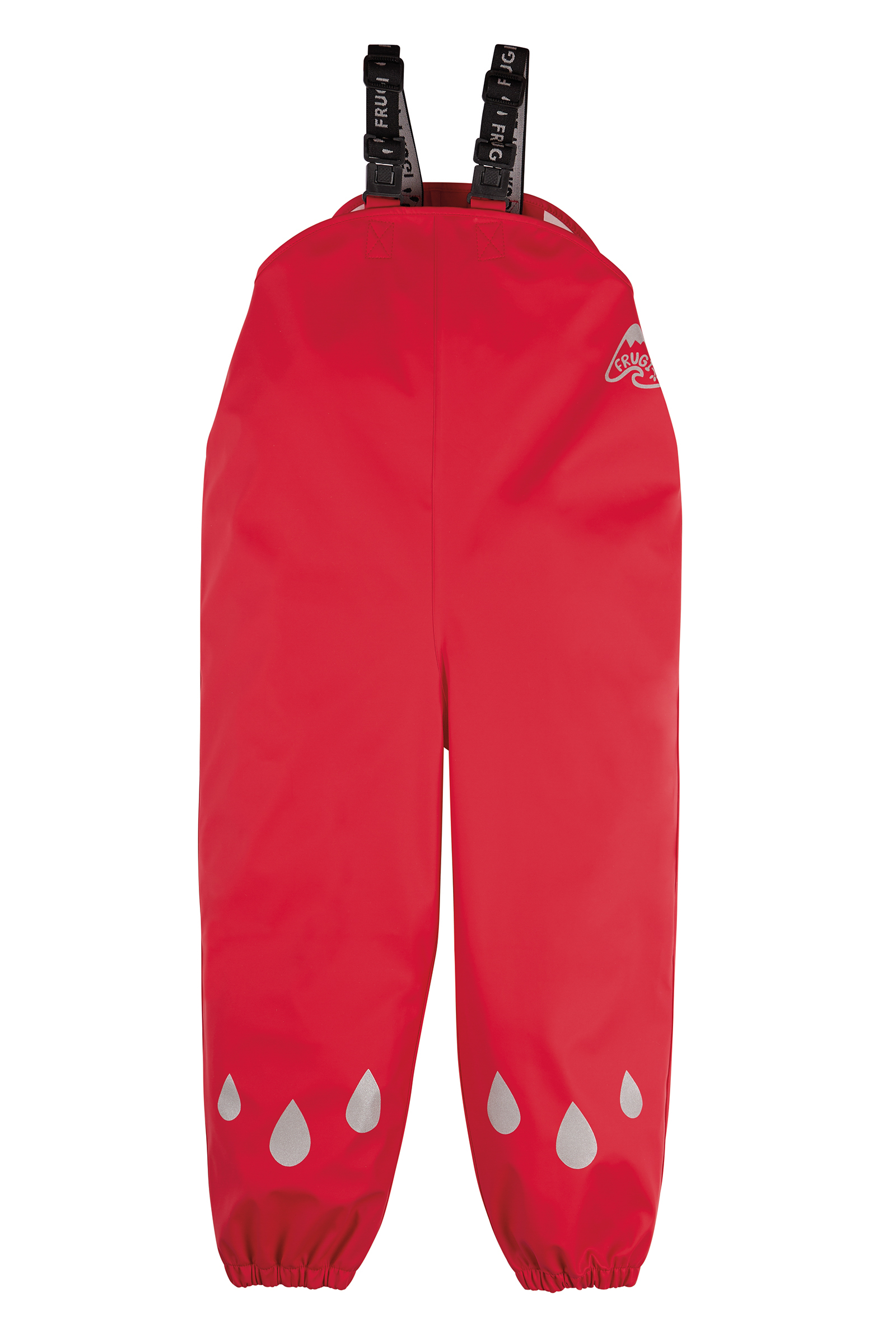 Frugi - Puddle Buster Trousers, True Red